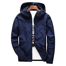 Winter Windbreaker Jacket Men <b>Autumn Large Size Mens</b> Clothing ...