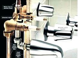 repairing bathtub faucet leaky bathtub faucet s fix single handle leaking delta repair replacing bathtub faucet repairing bathtub