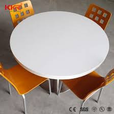 big round luxury marble solid surface table for banquet pictures photos
