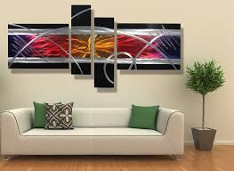 image of contemporary wall art decor colors