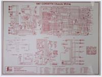 corvette c2 wiring harness diagrams from mid america motorworks 1967 corvette laminated chassis wiring harness diagram
