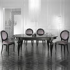 italian lacquer dining room furniture. Italian Designer Oval Extendable Black Lacquered Dining Table Lacquer Room Furniture