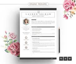 Downloadable Free Unique Resume Templates Word Creative Resume