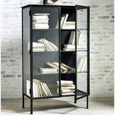 decoration iron cabinet industrial style wood display cabinets chests from rustic hinges metal frame glass