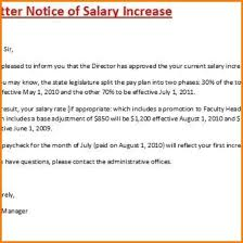 How To Write Salary Increment Letter 24 Letter For Salary Increase Sales Slip Template 22