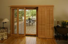sliding glass door shutter in charlotte