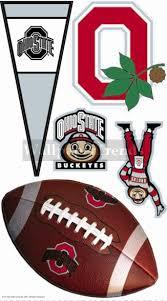 osu ohio state university buckeyes wall