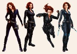 black widow costume from all cur s
