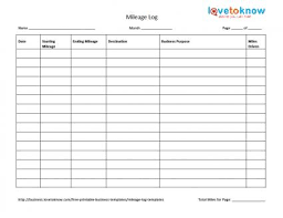 travel log templates business travel log business travel log template mileage log