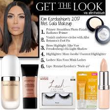 get the look kim kardashian s met gala 2017 makeup