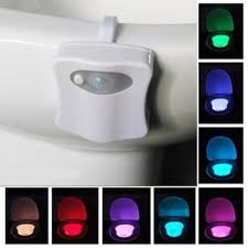Shop Black Friday Deals on 8 <b>Colors Hanging Toilet</b> Bowl LED ...