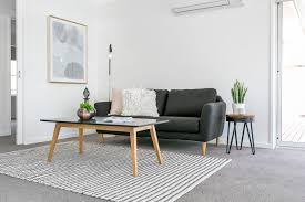 compact living room furniture. Compact Furniture Small Living Living. Room Ideas, Dark Sofa, Textured Rug