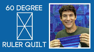 Rob's 60 Degree Ruler Quilt - YouTube & Rob's 60 Degree Ruler Quilt Adamdwight.com