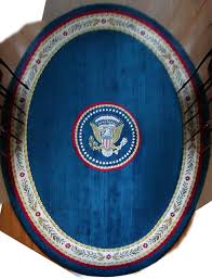 oval office rug. President Clinton\u0027s Oval Office Rug\u2014digitally Reconstructed (Clinton Birthplace Museum | Designed By Kaki Hockersmith) Rug L