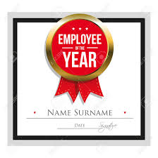Employee Of The Year Certificate Template Free Employee Of The Year Certificate Template