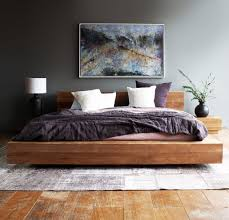 wood bed frame king. Teak Bed Frame | Madra Australian King Size Wood E
