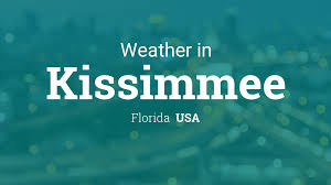 Weather for Kissimmee, Florida, USA