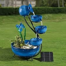 Best Choice Products Ceramic Solar Water Fountain Garden Zen Free Solar Garden Fountain
