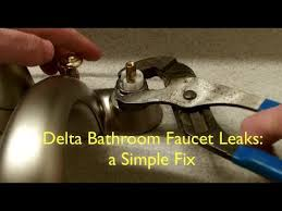 bathroom sink faucet repair. leaky faucet repair bathroom sink on how to fix a in 5 minutes e