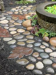 10 Stunning DIY Rock Pathway Ideas 9