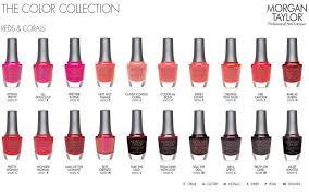 morgan taylor nail polish morgan taylor color chart