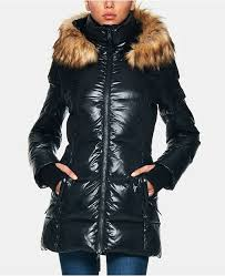 S13 Coat Size Chart Gramercy Down Puffer Coat With Faux Fur Trim Hood