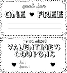 Coupon Templates Free Template Printable Birthday Coupon Template 9