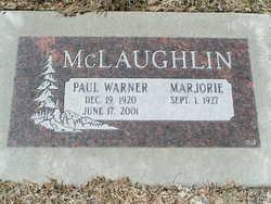 Paul Warner McLaughlin (1920-2001) - Find A Grave Memorial
