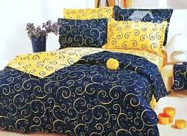 blue yellow quilt finished