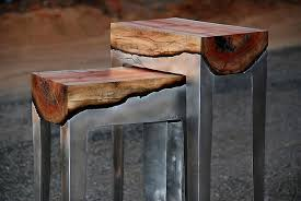 furniture made from tree trunks. Amazing Modular Furniture Made From Wood And Molten Metal. Tree TrunksWood Trunks U