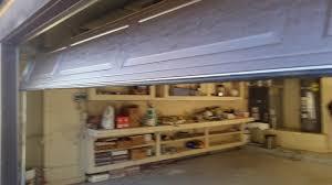 installing a wayne dalton model 8000 with lhr track west coast overhead door