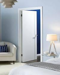 I White Indoor Doors Plain Interior Contemporary Sierra  Internal Door A With