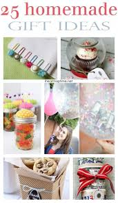 25 homemade gift ideas on iheartnaptime.com -this is a must see list!