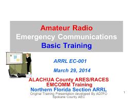 Amateur radio emergency communications enhancement act