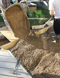 Diy Concrete Patio Project Backyard Pouring A Concrete Pad Brittany Stager