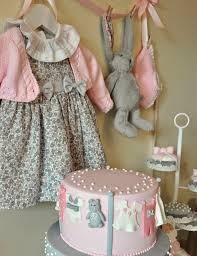 pink and gray baby shower via kara s party ideas karaspartyideas com cake printables