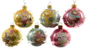 Christbaumkugeln Weihnachtskugel Mix Comic Tier Motiv Echt