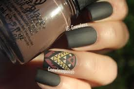 Tribal Print Nail Designs 31dc2014 26 Inspired By A Pattern Nails Tribal Nails