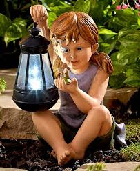 fairy statues garden statues outdoor lawn