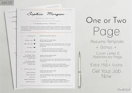 Professinal Resume Cv Template 7 Kreativ Graphic