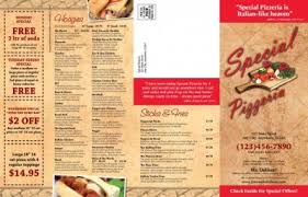 To Go Menu Templates Take Out Menu Template Free Under Fontanacountryinn Com