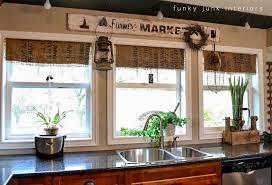 My 700 Burlap Coffee Bean Sack Window Shades  Funky Junk Burlap Window Blinds