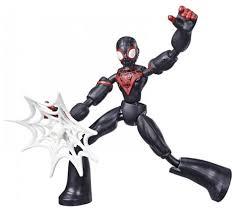 <b>Фигурка Hasbro</b> Bend and Flex: <b>Spider</b>-<b>Man</b> Майлз ... — купить по ...
