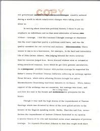 speech draft on writing re profiles in courage john f kennedy view parent collection and finding aid