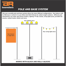 Concrete Light Pole Base Design Pole And Base System B R Innovations
