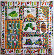 The Very Hungry Caterpillar Quilt I Designed Quilts Pinterest & No Pattern This One Best Shows The Growth Cycle And Counting Aspects Of The  Book The Adamdwight.com