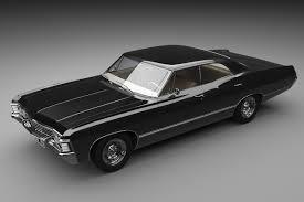 impala 1967 3d max