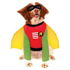 Teen titan robin dog costume