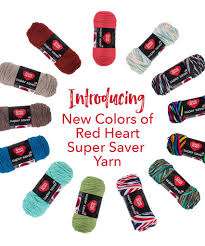 Specific Red Heart Yarn Colors 2019