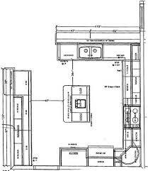 Kitchens, Kitchen Floor Plans U Shaped: Kitchen floor plans